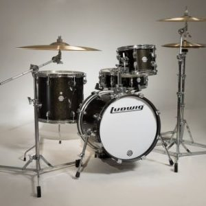 Ludwig Breakbeats by Questlove Acoustic Drumset Black Sparkle