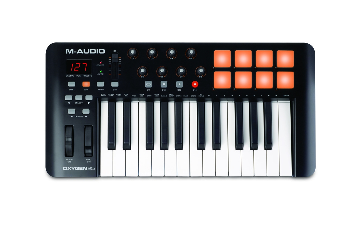 M-Audio Oxygen 25 MK IV MIDI Controller Review