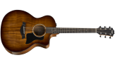 Taylor Deluxe Grand Auditorium Acoustic-Electric Guitar